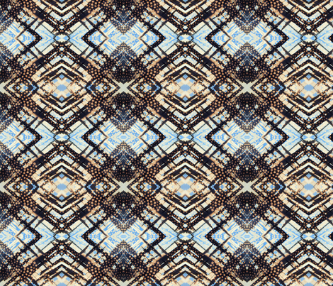 Indigo Spot Design fabric by katehasteddesigns on Spoonflower - custom fabric