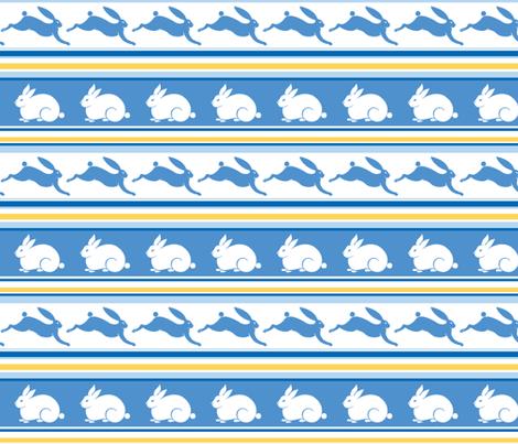 Arctic Rabbit fabric by havemorecake on Spoonflower - custom fabric