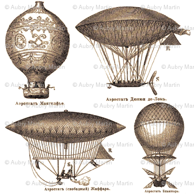 Dirigibles (White)