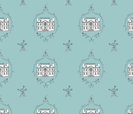 manor house fabric by katherinecodega on Spoonflower - custom fabric
