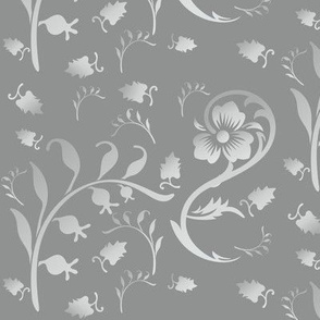 Lily of the Valley in Grey © 2010 Gingezel™