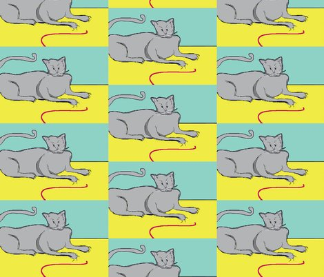 Rrrgray_cat_with_claws__no_border__turquoise_background_larger_shop_preview