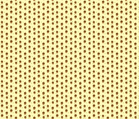acorn_fabric fabric by featheredneststudio on Spoonflower - custom fabric