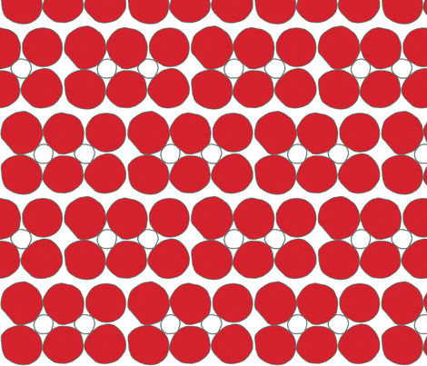 pebblestones_red fabric by holli_zollinger on Spoonflower - custom fabric