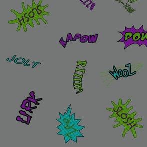 Comical Sounds (Villain Colorway)