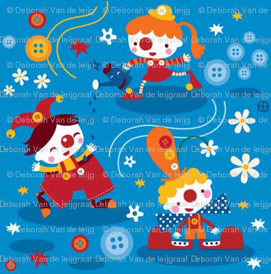 Clowns&buttons!
