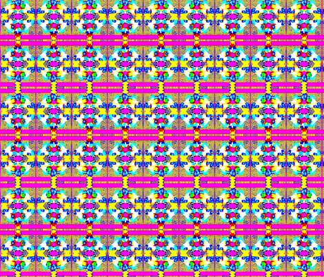 Bright Totem fabric by robin_rice on Spoonflower - custom fabric