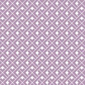 Basket Blocks (Lavender)