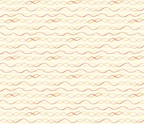 virginia- on cream fabric by tinyhappy on Spoonflower - custom fabric