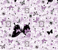 Natural Graffiti in Lavender by Ellen Medlock Studio