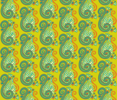 Flashback,  fabric by sophista-tiki_by_dawn_frasier on Spoonflower - custom fabric