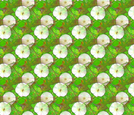Joy in the Flower fabric by nalo_hopkinson on Spoonflower - custom fabric