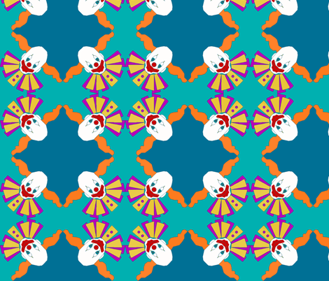 Clownery fabric by savime on Spoonflower - custom fabric