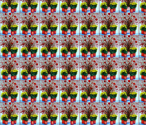 Chinese New Year fabric by karenharveycox on Spoonflower - custom fabric
