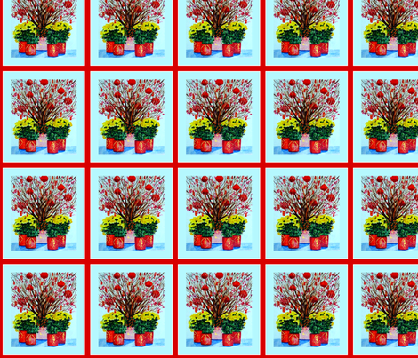 Happy Chinese New Year two fabric by karenharveycox on Spoonflower - custom fabric