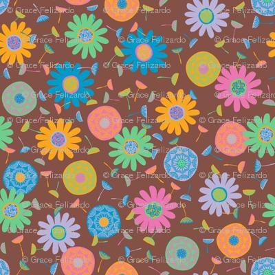 Flower Shower Russet