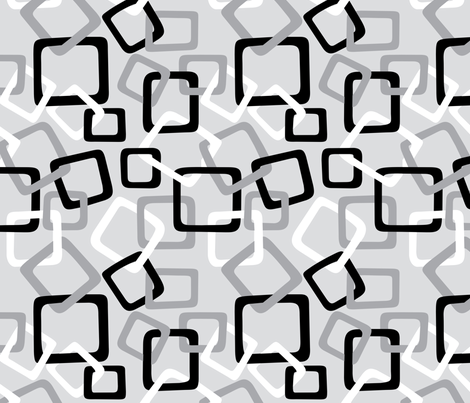 Links: Double Grey fabric by modgeek on Spoonflower - custom fabric