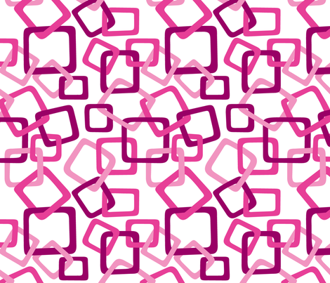 Links: Pink fabric by modgeek on Spoonflower - custom fabric