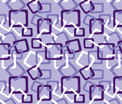 Links: Double Purple fabric by modgeek on Spoonflower - custom fabric