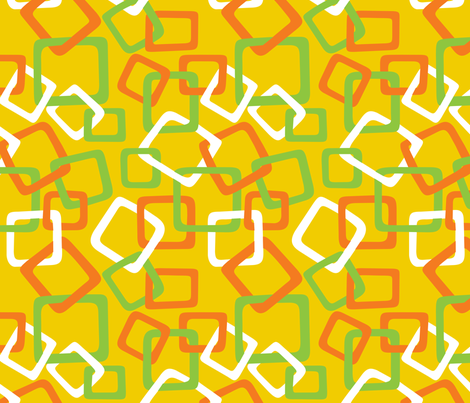 Links: Multi Yellow fabric by modgeek on Spoonflower - custom fabric