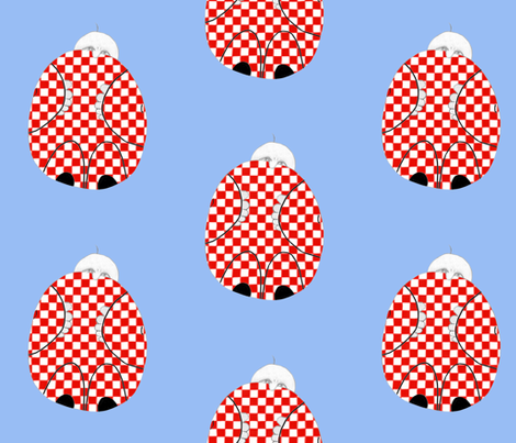 Gnome at Home-Blythe fabric by blythe's_fabric_boutique on Spoonflower - custom fabric