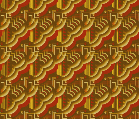 Crocodile fabric by iizzard on Spoonflower - custom fabric