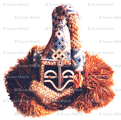 Royal Bakuba Male Mask