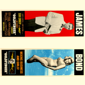 Goldfinger Movie Posters 1 and 2