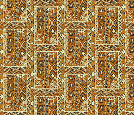 Flash back, tapa trippin, traditional fabric by sophista-tiki on Spoonflower - custom fabric