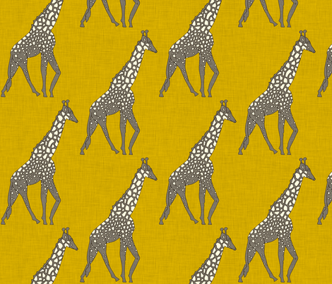 giraffe_safari fabric by holli_zollinger on Spoonflower - custom fabric