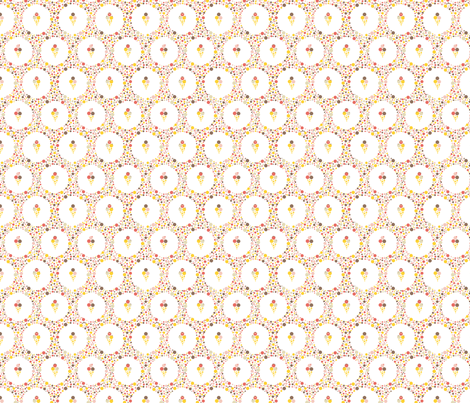 ice-cream fabric by oohoo on Spoonflower - custom fabric
