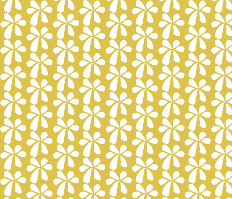 Golden Yellow fabric by renewfabrics on Spoonflower - custom fabric