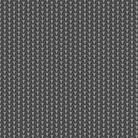 Knitting Factory (black) fabric by leighr on Spoonflower - custom fabric