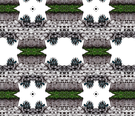 Mystic Turtles fabric by oswelldesigns on Spoonflower - custom fabric