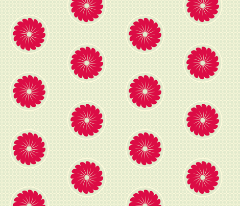 dots2_red fabric by elvett11 on Spoonflower - custom fabric