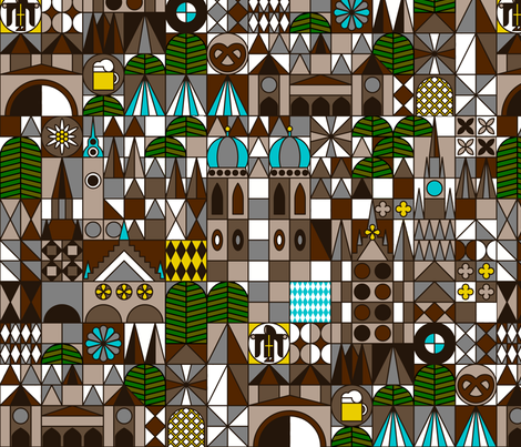 Munich fabric by dennisthebadger on Spoonflower - custom fabric