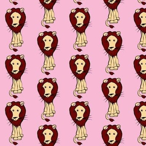 Lion_on_Pink