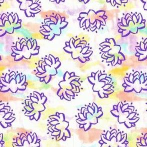 Lotus (Hybrid Rainbow/Purple)