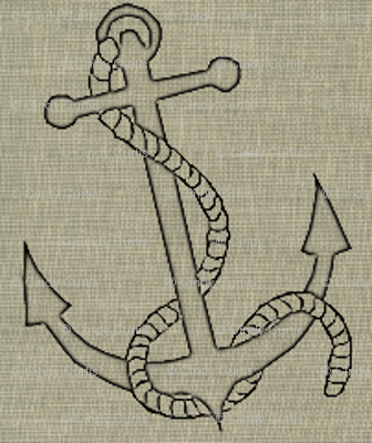 Anchors in Black