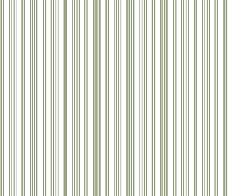 Stripe Stripe (Olive) fabric by designedtoat on Spoonflower - custom fabric