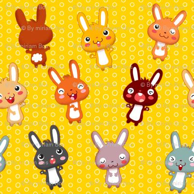 Funny Bunny | yellow