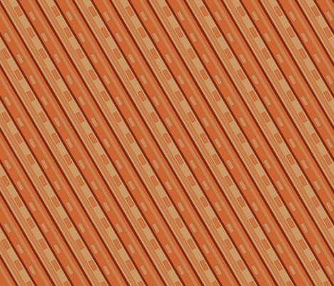 ©2011 toffee adobe fabric by glimmericks on Spoonflower - custom fabric