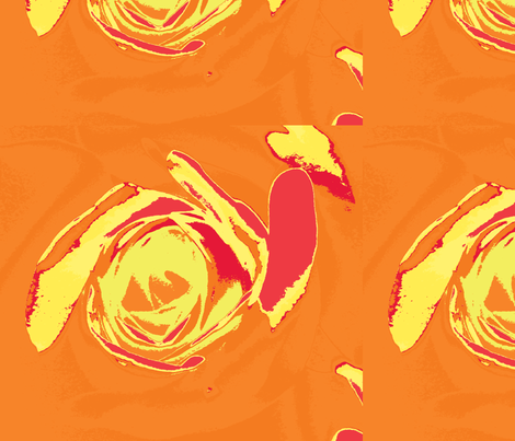 orangecyc fabric by arteija on Spoonflower - custom fabric