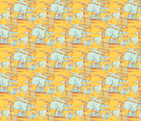 Save the Polar Bears fabric by susaninparis on Spoonflower - custom fabric