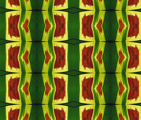 Tropical Leaf fabric by susaninparis on Spoonflower - custom fabric