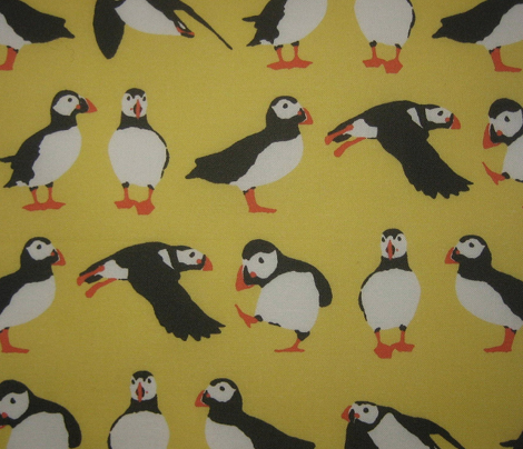 just puffins yellow small