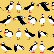 just small puffins (yellow)
