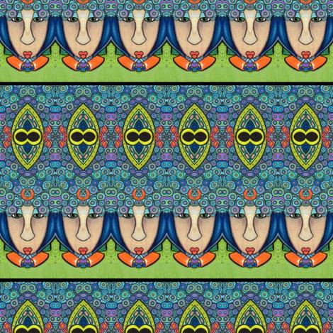 symmetry_1b fabric by vickijenkinsart on Spoonflower - custom fabric