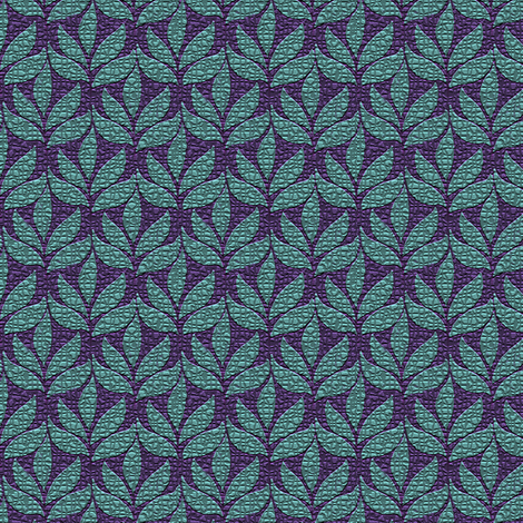 Textured-leaf-small-2-in-repeat fabric by mina on Spoonflower - custom fabric