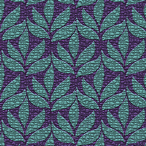 Textured-leaf-repeat-medium-4inch-repeat fabric by mina on Spoonflower - custom fabric